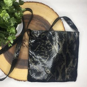 Holt Renfrew || Genuine Leather (Reptile) Pouch